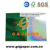 매일 사용을%s Paper/PVC/Pet 물자 접착성 종이