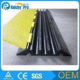 屋外の床またはケーブルの傾斜路のための適用範囲が広いケーブルの傾斜路かゴムケーブルの傾斜路