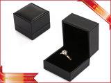 Het zwarte Vakje van de Gift van de Verpakking van de Armband van de Ring van de Vakjes van de Verpakking van de Juwelen van het Document
