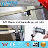 La venta caliente una fijó una puerta de desplazamiento de la ducha del acero inoxidable (BL-B0008-P)
