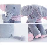 قطيفة فيل نظرة خاطفة استهجان لعبة كهربائيّة مع [فلبّينغ] الآذان مع يتحدّث