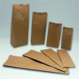Validar los bolsos materiales de las palomitas del papel de Kraft de la venta al por mayor de la pedido del cliente