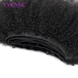 イボンヌの卸し売りバージンのブラジルの毛のアフリカのねじれたカーリーヘアーの織り方