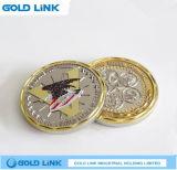 Médaille faite sur commande de pièce de monnaie en métal de cadeau de souvenir de course de pièce de monnaie d'enjeu