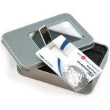 Movimentação do flash do USB do cartão de crédito do presente da promoção (CMT-CC001)