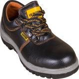 Vente chaude de l'huile de haute qualité des chaussures de sécurité en cuir avec embout en acier et la plaque en acier