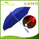 Regenschirm des heißer Verkaufs-preiswerter Regenschirm-LED Sun mit LED-Regenschirm LED