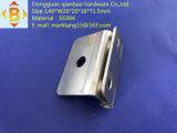 ステンレス鋼の曲げられた小さいヒンジ