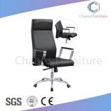 Presidenza moderna dell'ufficio del nero della parte girevole della presidenza del cuoio sintetico (CAS-EC1802)