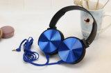 Het vlakke Spel van de Hoofdtelefoons van de Kabel Stereo telegrafeerde de StereoHoofdtelefoons van het over-Oor