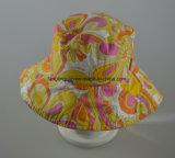 Шлем ведра хлопка способа повелительниц реверзибельный