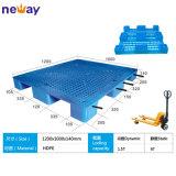 Nuevo diseño 1000*1000*140cm Reticular Grid 9 pies de palets de plástico