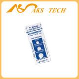 Etiqueta engomada logística del papel del sensor de la escritura de la etiqueta del control de la temperatura del encadenamiento frío