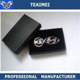 Correntes chaves da liga nova do zinco do metal do Keyring do presente do logotipo do carro do projeto