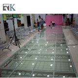 イベントのための階段とのRkの携帯用アルミニウム段階ガラスPlatdorm