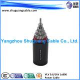 PVC дыма низкого галоида Ddz-VV пламя низкого изолированное и обшитое - retardant силовой кабель