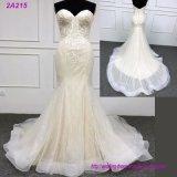 Robe de mariage Backless de robe de bille de bal d'étudiants d'amoureux W18394