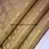 2018 наиболее горячих Gold печать шторки ткань оформление отеля в Tongxiang