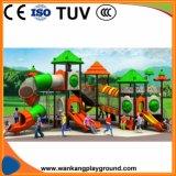 Игрушек детей спортивной площадки джунглей скольжение опирающийся на определённую тему напольных пластичное (WK-A1211b)