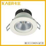 5 polegadas /33W carregador giratório da luz para baixo do teto de LED DE ESPIGAS