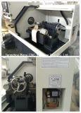 Ck6130小さい高精度の平床式トレーラーCNCの旋盤
