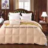 極度の柔らかさ70%の白いガチョウの羽毛布団の枕カバー2パック