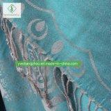 Nuevo mantón de Pashmina de la manera del diseño 2017 con la bufanda del telar jacquar de Rose