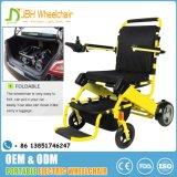 Sedia a rotelle leggera di potere di piegatura approvata dalla FDA di Ce&