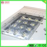 Nuevo diseño de paneles solares 12W LED de encendido la luz de la calle