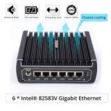 Il migliore mini calcolatore di Itx mette il router Pfsense Linux WiFi delle porte di lan dei NIC 6 dell'Intel dell'azienda di trasformazione di Kabylake I3