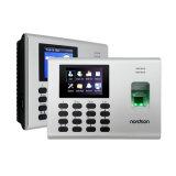 セルフサービスのReprot時間の出席の組み込み電池RFIDのカードの指紋読取装置