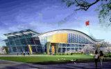 Prefab промышленное здание кино стальной структуры