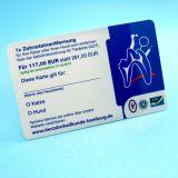 Ibrido MIFARE di RFID classico 1k + Smart Card di frequenza ultraelevata 9662