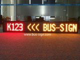 버스 SMD 발광 다이오드 표시 표시 P7.62 LED 정보 표시 널