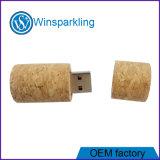 Flash do USB da movimentação do flash do USB da cortiça da boa qualidade