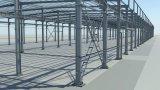 低価格および高品質のプレハブの鋼鉄建物