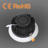 8 세륨 RoHS를 가진 인치 40W 최대 LED 옥수수 속 Downlight는 승인했다