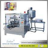 Automatique, huile de palme Huile de moutarde pochette Machine d'emballage rotatif