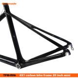 20 pulgadas Cuadro de carbono - carbono 451 Bicicleta en el 3K Matt