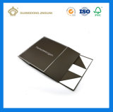 Rectángulo de empaquetado de la cartulina rígida plegable plana hecha a mano con el recinto magnético (fabricante de China)