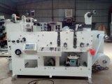 Máquina de impresión Flexo con 2 de la estación de troquelado rotativo