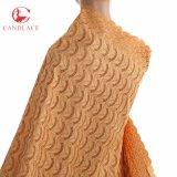 Tela grande del cordón del algodón del diseño hermoso en venta