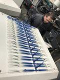Brosse à dents à deux couleurs de décisions de la machine de moulage par injection