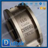 Didtek 30 Jahre Ventil-Hersteller-Doppelplatten-Oblate-Bronzen-Rückschlagventil-