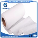 Tessuto non tessuto del cotone naturale di 100% per i rilievi sanitari