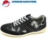 Zapatos ocasionales de la impresión de la estrella de los hombres superiores de la lona