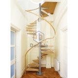 Hölzernes Treppenhaus-Modell-hölzernes Treppenhaus für kleinen Platz