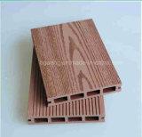 Revêtement en plastique en bois imperméable à l'eau résistant UV de mur de panneau de mur de WPC