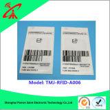 Étiquette imperméable à l'eau d'IDENTIFICATION RF de fréquence ultra-haute pour des vêtements