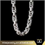Collar bizantino popular de los hombres de cadena/de las mujeres del acero inoxidable de la joyería